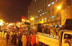 الهدوء يسود المنيا بعد ليلة من التخريب والتظاهرات