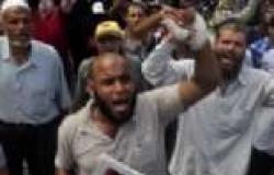 """أنصار المعزول ينطلقون في مسيرة من أمام مسجد """"بدر"""" بالإسكندرية"""