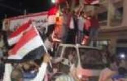 """مسيرة حاشدة بالبدرشين في الجيزة لتأييد قرارات """"السيسي"""""""