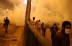 اشتباكات بين الأهالي والإخوان بميدان باب الحرس وكفر البطيخ في دمياط