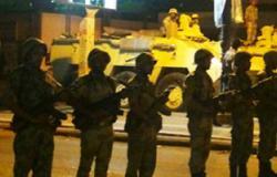 الجيش الثالث ينتشر بجميع شوارع السويس ويبدأ تطبيق حظر التجوال