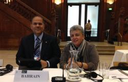وفد بحرينى يبحث مع مسئولة دولية لحقوق الإنسان بجنيف التعاون المشترك