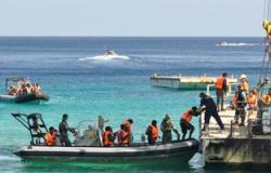 البحرية الليبية تنفى إطلاق النار على قارب يقل مهاجرين