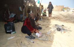 بالصور.. جمعية خيرية توزع 1600 كيلو من لحوم الأضاحى بشمال سيناء