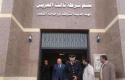 جهاديون سابقون يزورن أقسام الشرطة بالعريش لتوزيع هدايا للضباط والجنود