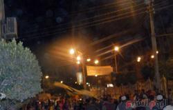 ننشر صور محاولات الإخوان اقتحام مؤتمر حزب النور ببنى سويف