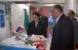 """وزيرة الصحة تزور مستشفى أوسيم المركزي بشكل مفاجئ..وتتفقد """"ناصر العام"""""""