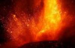هدوء نسبي لبركان «إتنا» في جزيرة صقلية الإيطالية