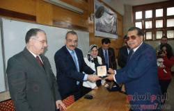 رئيس جامعة حلوان يفتتح المؤتمر الدولى الثالث لكلية الفنون التطبيقية