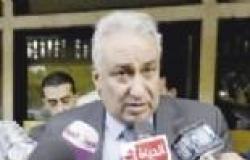 مناوشات أثناء مناقشة مسودة الدستور بين مؤيدي السيسى وصباحي بدمياط