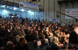 بالصور.. بدء مؤتمر حزب النور بالبحيرة لدعم الدستور