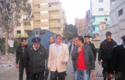بالصور.. مساعد وزير الداخلية يتفقد خدمات  الكنائس بالإسماعيلية
