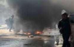 """تواصل الاشتباكات بين """"الإخوان"""" وأهالي المهندسين.. والأمن يطلق """"الغاز"""""""