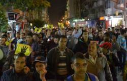مسيرة لأعضاء الإخوان بالمنصورة تنديدا بالدستور الجديد