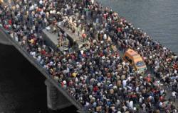 المصريون فى بريطانيا يحتفلون بذكرى ثورة 25 يناير