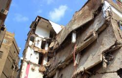 سكان عقار مدينة نصر المنهار يرفضون وحدات سكنية بديلة فى المرج