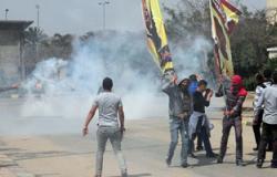 الإخوان يتحركون إلى فيصل بعد فض مسيرة الهرم وضبط 4 خلال الاشتباكات