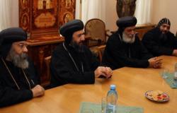 """""""الأرثوذكسية والروسية"""" تناقشان أوضاع مصر باجتماع فى موسكو"""