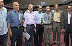 وفد من حركة فتح يشارك فى عزاء الشرطة أمام قصر عابدين
