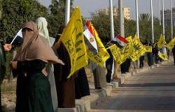 """""""الإخوان"""" يتحركون من أمام مسجد السلام بمدينة نصر باتجاه موقف العاشر"""