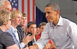 بالصور.. «أوباما» بين 2009 و2014: الرئيس الذي شاب سريعا