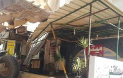 إزالة الإشغالات من شوارع حى شرق الإسكندرية