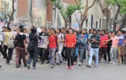 القبض على اثنين من عناصر الإرهابية خلال مظاهرة بجامعة كفر الشيخ