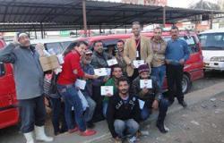 مستقبل وطن بالإسماعيلية ينظم فعالية لتوعية المواطنين بقانون المرور