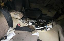 انتقال قيادات أمن القاهرة لمعاينة آثار انفجار سيارتى مدينة نصر