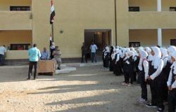 التحقيق مع 4 مدرسين بالغربية لعدم إلقاء كلمة عن تحرير سيناء بطابور الصباح
