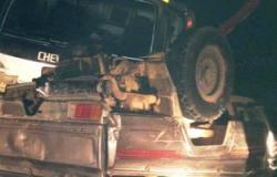 إصابة 13 شخصًا فى حادث تصادم بالمنيا