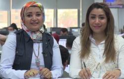 """بالفيديو.. آخر فتاوى إيناس الدغيدى فى نشرة اليوم السابع المصورة مع """"همت ودينا"""""""