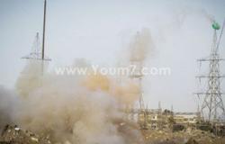 مصدر أمنى: توقف محطة كهرباء الوحشى نجم عن سقوط قذيفة على منزل مجاور لها