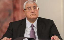 عدلى منصور يوجه التحية لشعب مصر والرئيس السيسى لإنجاز مشروع قناة السويس