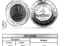 المالية: غدا بدء تداول عملة الجنيه المعدنى الجديد احتفالا بقناة السويس