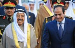 أمير الكويت فى برقية للسيسى: قناة السويس عمل جبار يعزز مكانة مصر فى العالم