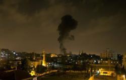 الجيش الإسرائيلى يشن غارات جوية على قطاع غزة