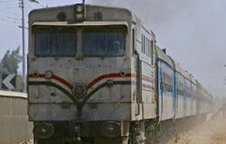 إيقاف قطارات الصعيد لنشوب حريق بمخلفات بجوار شريط سكة حديد الحوامدية