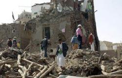 مقتل وإصابة 25 مدنيا فى قصف للحوثيين على الأحياء السكنية بتعز اليمنية