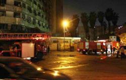 حريق بشقة سكنية فى الزيتون والدفع بـ3 سيارات إطفاء