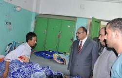 بالصور.. محافظ القليوبية الجديد فى زيارة مفاجئة لمستشفى بنها التعليمى