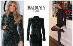هيفا وهبي ترتدي نفس فستان مايا دياب الذي ارتدته العام الماضي!