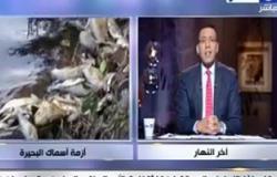 بالفيديو..خالد صلاح يعرض تقريرا عن نفوق الأسماك بكفر الشيخ ويطالب الرئاسة بالاهتمام