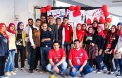 الاتحاد المصرى لطلاب صيدلة طنطا يواصل حملاته للتبرع بالدم