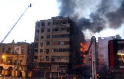 """""""اليوم السابع"""" يرصد حريق العتبة فى 10 صور.. وخسائر هائلة"""