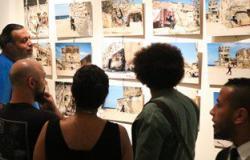 قنصل فرنسا بالإسكندرية يفتتح معرض صور بالمعهد الثقافى