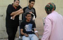 """""""صحة بورسعيد"""" تنظم حملة للتبرع بالدم فى ميدان المعديات"""