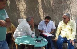 مدير عام شئون الأحياء يتفقد معدات جراج حى الضواحى ببورسعيد