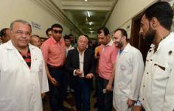 بالصور.. محافظ بورسعيد يتفقد المستشفى العام للوقوف على مستوى الخدمات