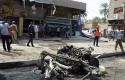 """قتلى ومصابون فى انفجار سيارة مفخخة بمنطقة """"اللطيفية"""" جنوبى بغداد"""